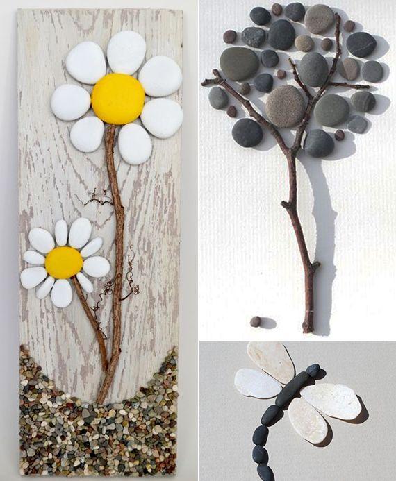 die besten 17 ideen zu basteln mit steinen auf pinterest steinkunst stein und steine. Black Bedroom Furniture Sets. Home Design Ideas