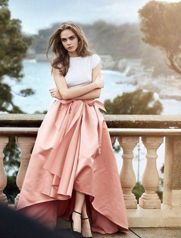 Cara Delevingne by Peter Lindbergh for Vogue.