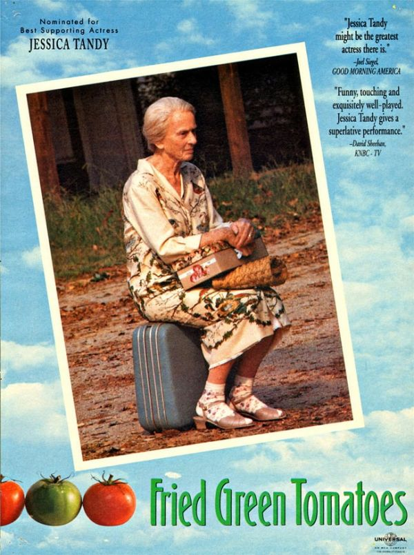 an analysis of the film fried green tomatoes directed by jon avnet 1991 Fried green tomatoes: extended version on dvd (025192508127) from universal directed by jon avnet staring mary elizabeth mastrantonio, cicely tyson, mary-louise parker and kathy bates.