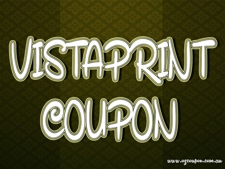 Visit this site http://www.ozcoupon.com.au/store/vistaprint for more information on Vistaprint Coupon. They are known for being an inexpensive yet high quality printing company that offers users a multitude of options at affordable prices. There is much to learn about Vistaprint and the best way to get a Vistaprint discount code to make the order even cheaper. Therefore opt for the best Vistaprint Coupon. Follow us: http://themeforest.net/user/vistaprintcoupon