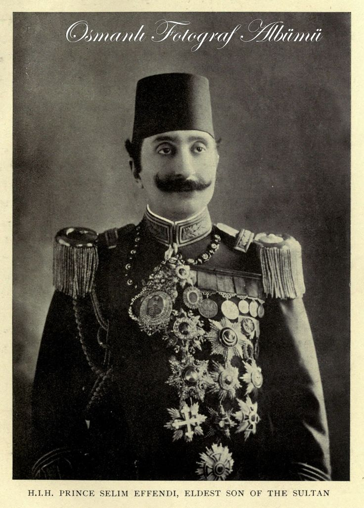 Sultan II. Abdülhamit'in En büyük oğlu Yusuf İzzettin