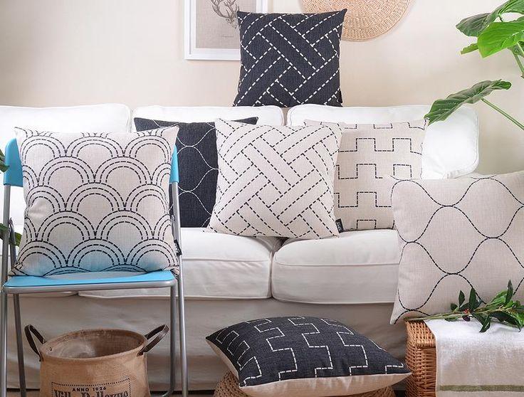 Legno sorprendentemente cuscino fluido cuscino bianco e nero nordic breve spessa divano divano cuscino lombare in Legno sorprendentemente cuscino fluido cuscino bianco e nero nordic breve spessa divano divano cuscino lombareda Cuscino su AliExpress.com   Gruppo Alibaba