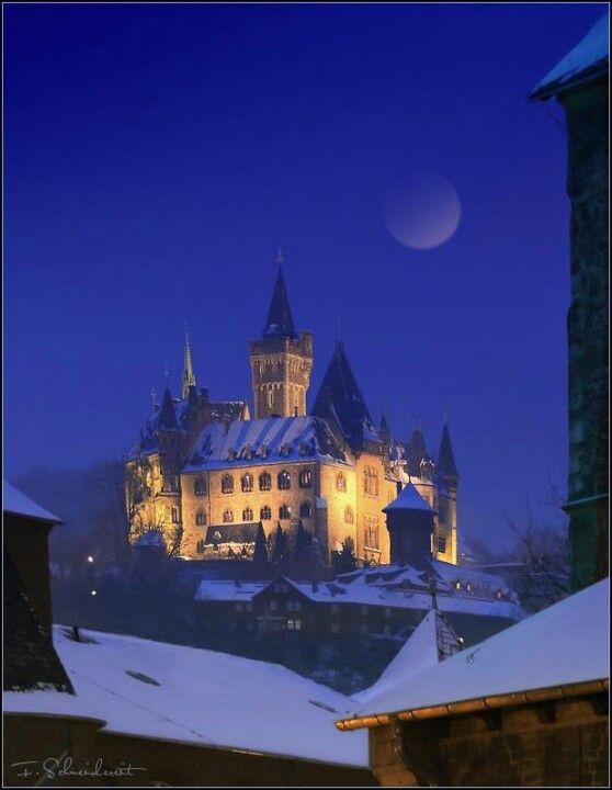 Wernigerode castle...