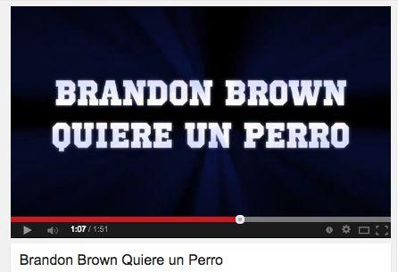 Mis Clases Locas - Making a movie trailer for Brandon Brown Quiere un Perro