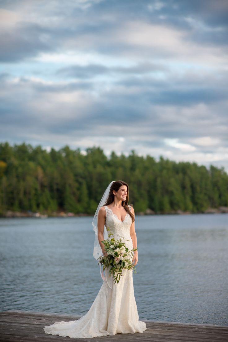 #VisualRoots #Lakeside #Bride #Wedding