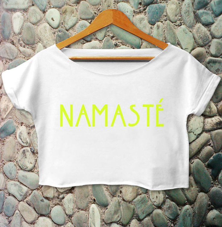 Namaste Shirt Namaste T Shirt Namaste Crop Tee Women Funny Slogan Inspired #Unbranded #CropTop