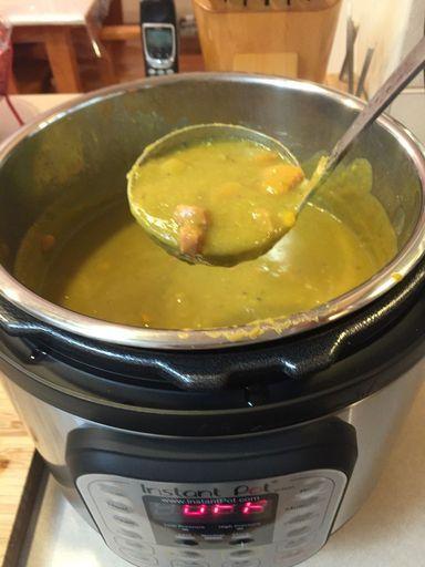 Ham and Split Pea Soup (Instant Pot)