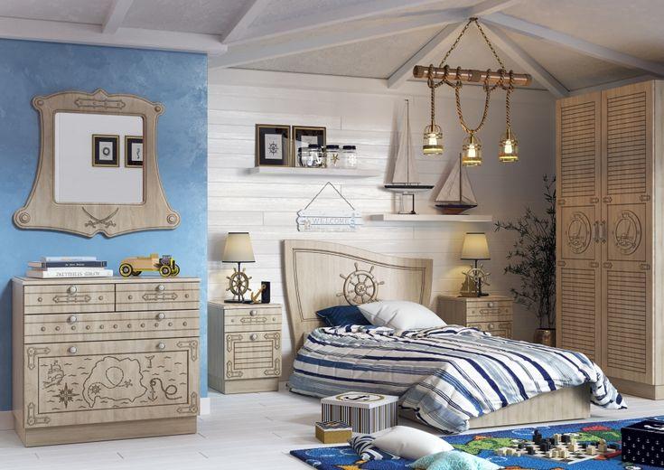Детская комната в морской тематике - Галерея 3ddd.ru