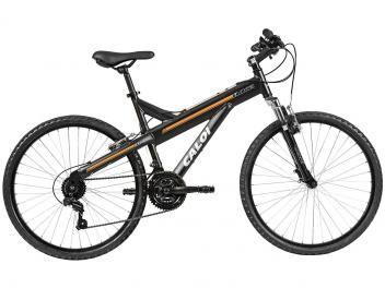 Bicicleta Caloi T-Type Aro 26 21 Câmbio Shimano TZ - Freio V-brake