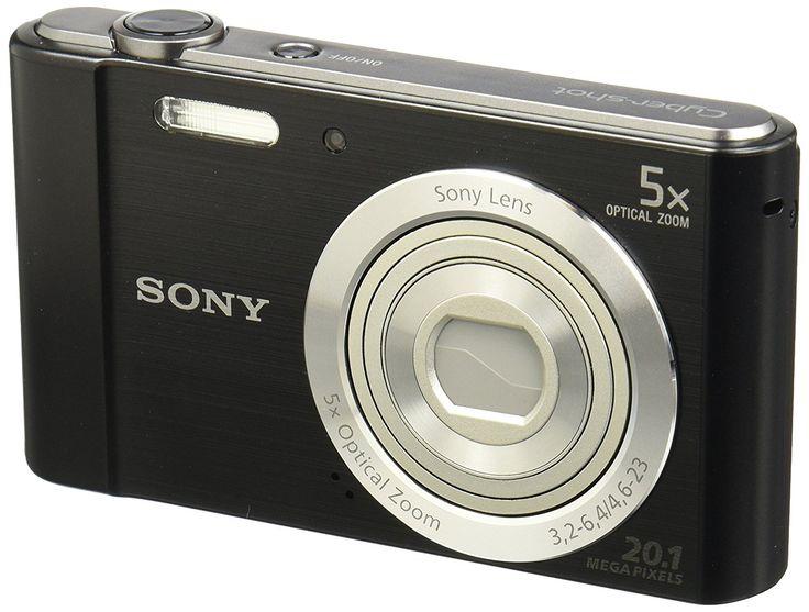 Sony Digital Camera - MP Super HAD CCD Sensor Image Stabilization