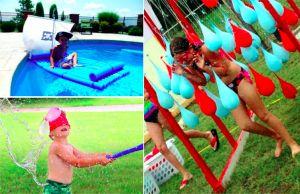 31 idées de jeux rafraîchissants et amusants avec de l'eau