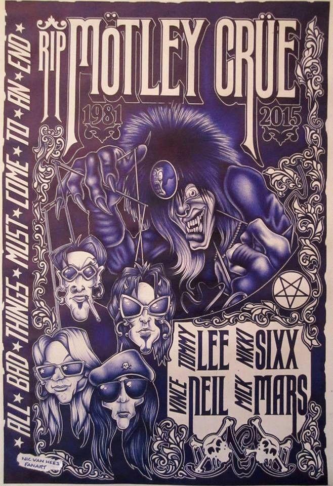 Pin by Nicole F on Motley crüe Motley crue albums, Band