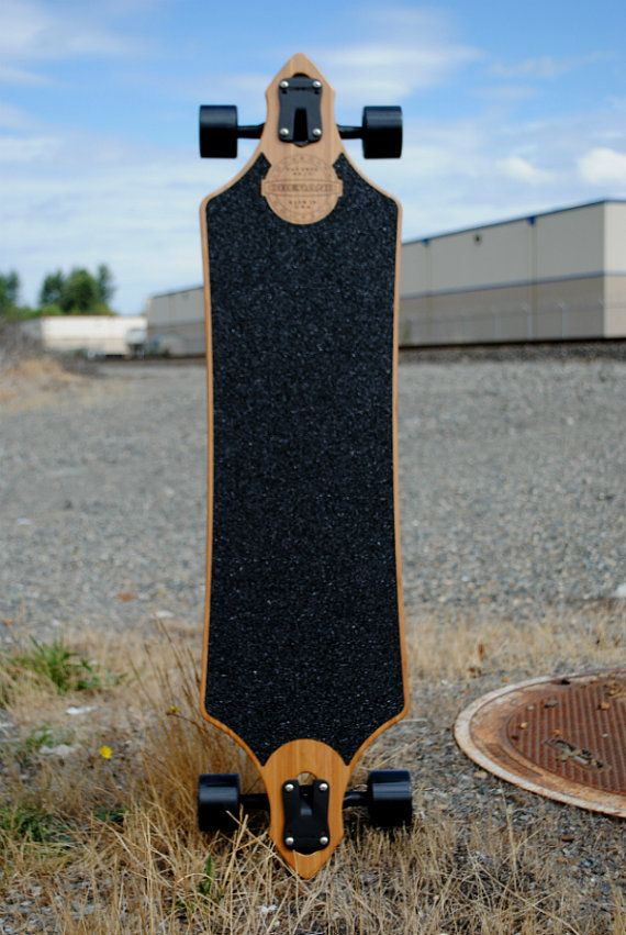41 Vintage Series Bamboo Longboard Deck The Fat by AOCollective