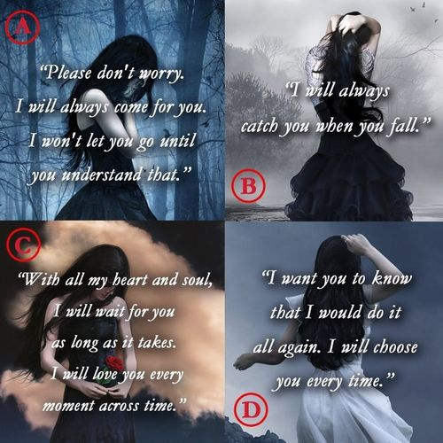 fallen - books - quotes I'm only on book two, but this is a really interesting series so far. :)