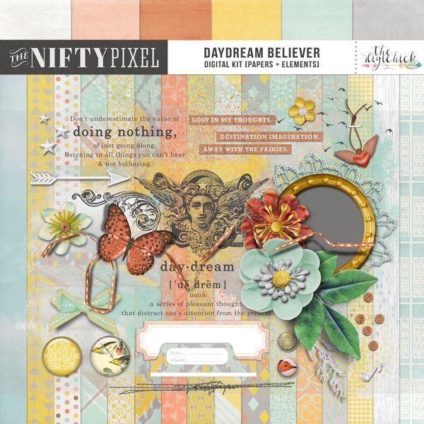 DAYDREAM BELIEVER | Digital Kit