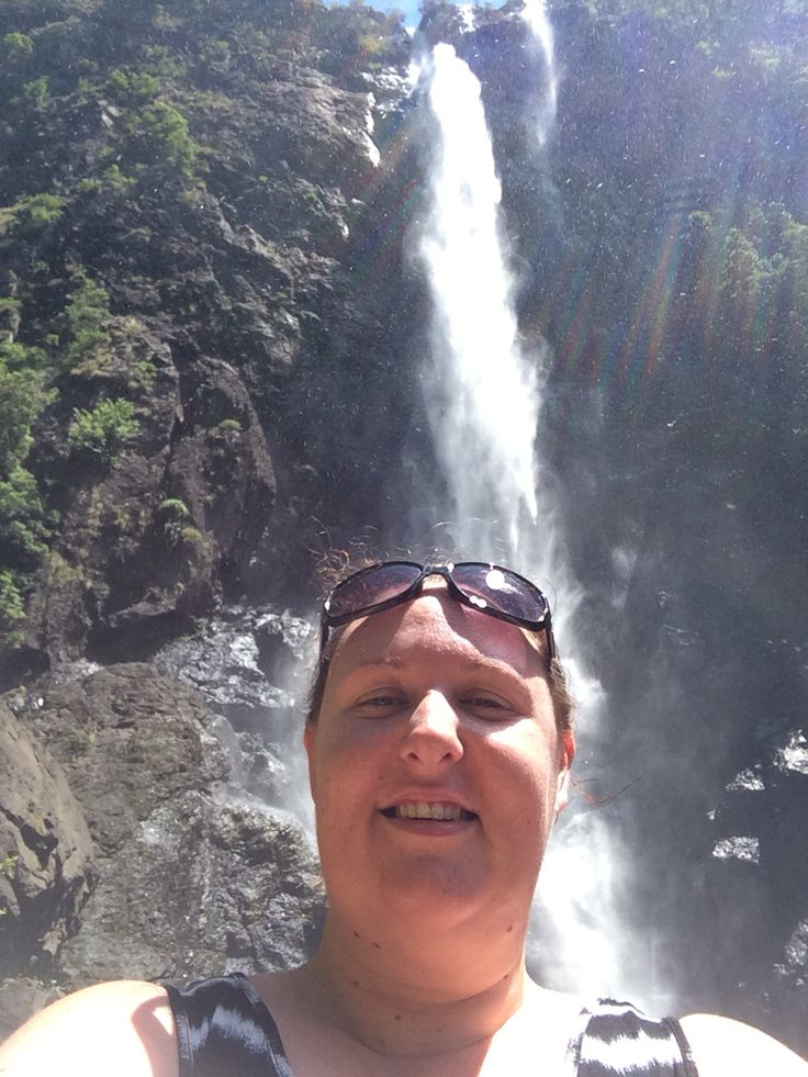Ellenbourogh Falls in Elands NSW 10-1-2015