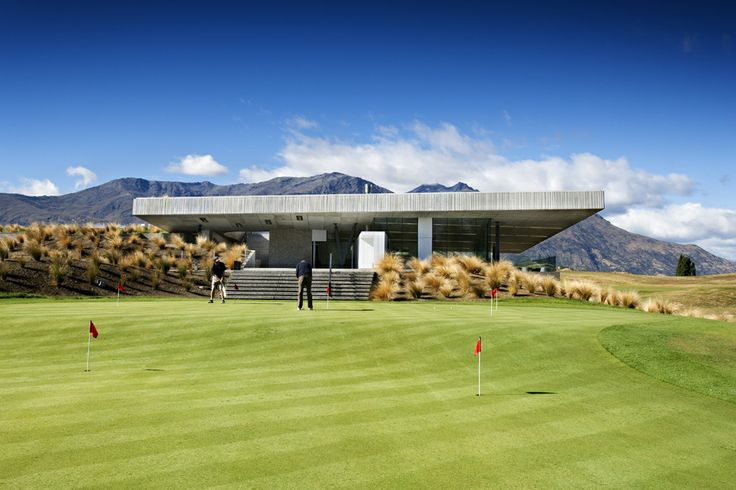 Love this clubhouse. Michael Hill clubhouse, New Zealand