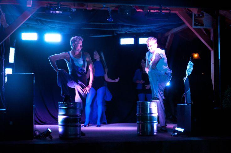 Večírek na ukončení sezóny v Kempu Mars - Plastik Tejp Show!!! CCA BAND je součástí projektu PTS = oživlá fotografie... Protože, když fotka ožívá, musí ožít i hudba....
