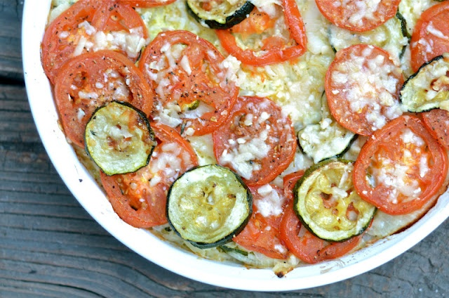 zucchini rice gratin | veggie side dishes and salads | Pinterest