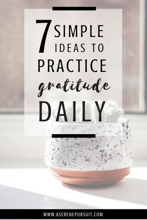 7 Simple Ideas To Practice Gratitude Daily | Having an attitude of gratitude year-round can be one of the simplest ways to improve your quality of life. Whether you keep a gratitude journal, gratitude jar, or simply take note of everything positive around you, there's always something to be thankful for. Click through for simple tips and ideas on how to practice gratitude daily.