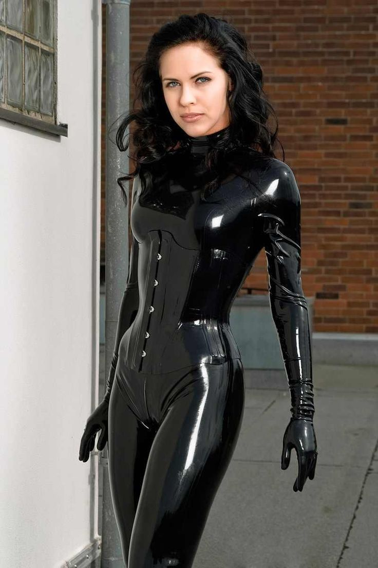 Tactical Investor On Sexy Latex Catsuit And Catsuit
