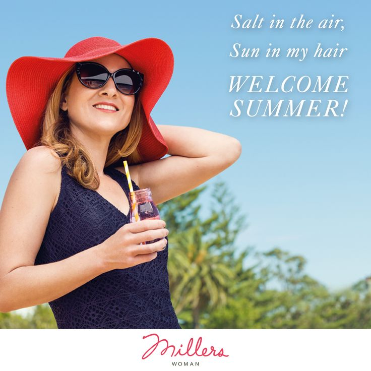 Summer has arrived at Millers! Richelle our Millers customer is gorgeous!