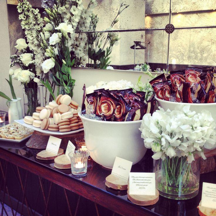 Amazing dessert buffet at Cathy & Vinny's wedding - Dec 13