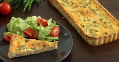 Trendi tavaszi francia lepény: omlós tészta gazdag feltéttel | Femcafe