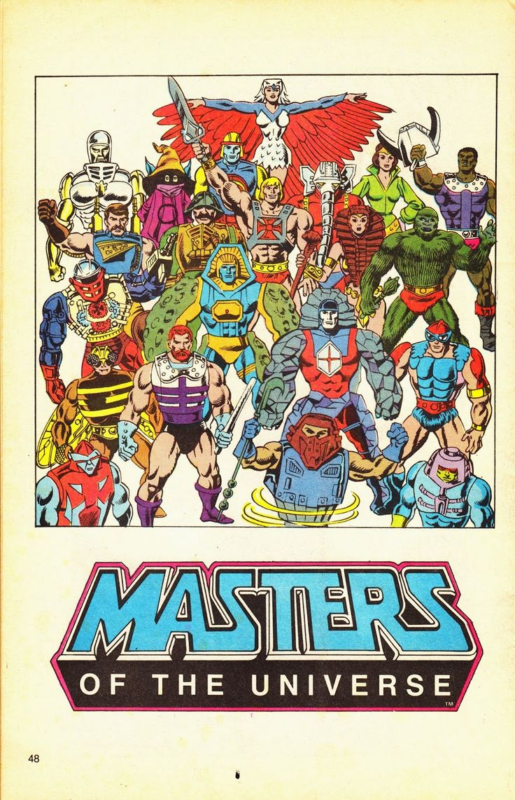 Masters of the Universe Ad