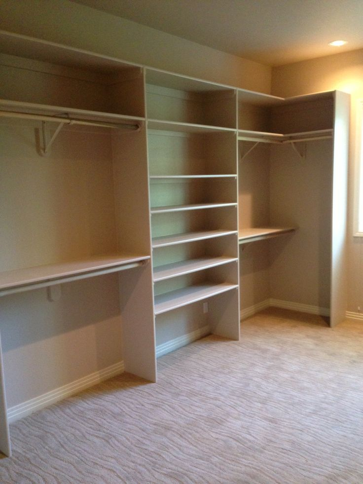 Master Bedroom Closet Ideas Walk In Shelving