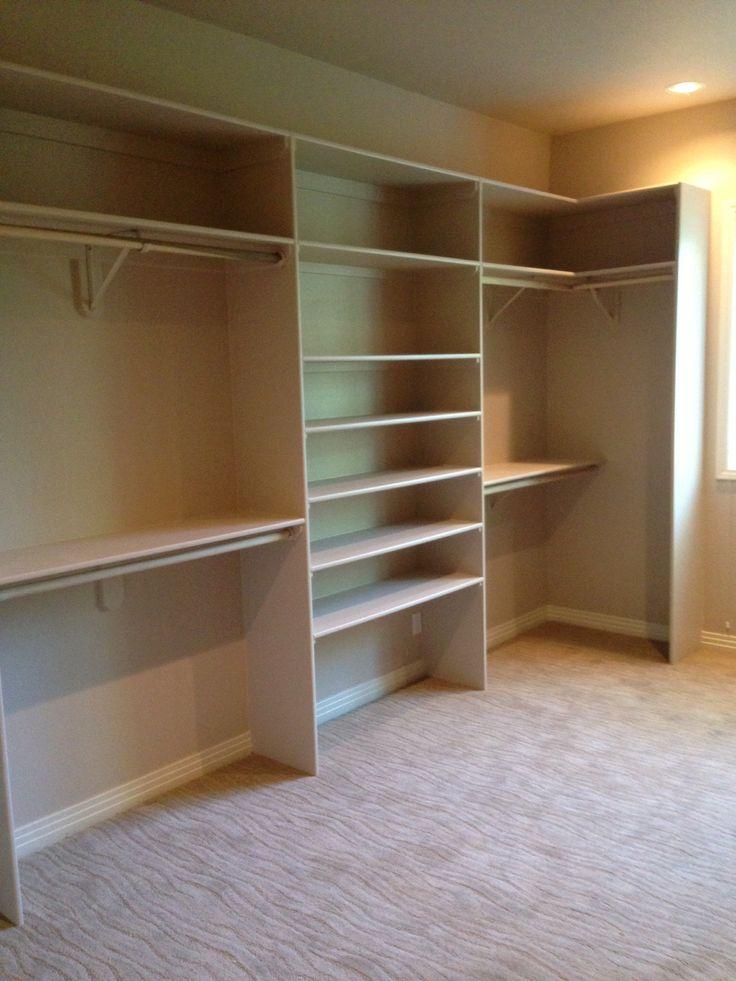 My Side Of My New Custom Closet Closet Planning Closet Layout Simple Closet