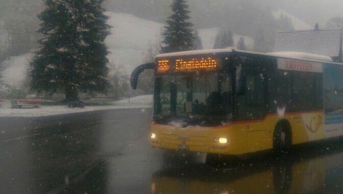 Schnee am 15 Mai im hoch ybrig