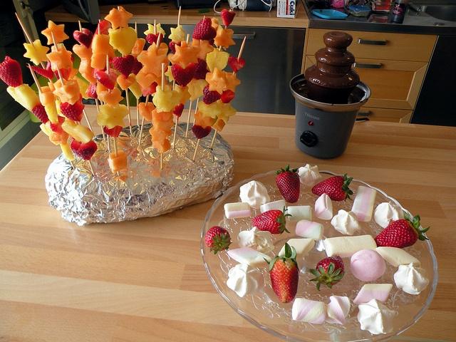 Spiedini di frutta by chefpercaso