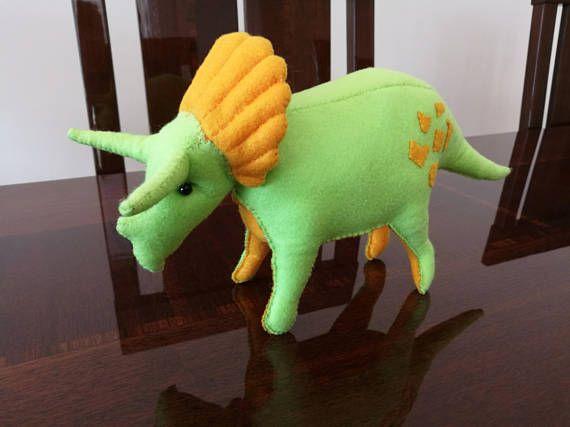 Plush Triceratops soft-toy plush dinosaur toy