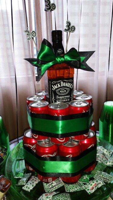 Jack and coke cake!