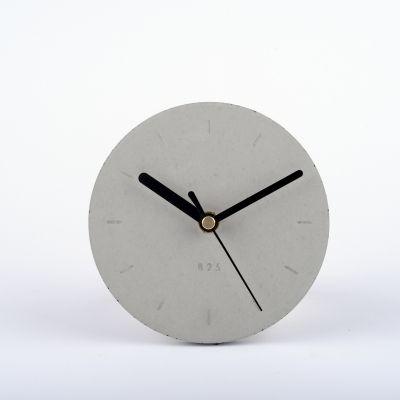 Zegar+wiszący+mały+-+naturalnie+szary // Projekt+B25