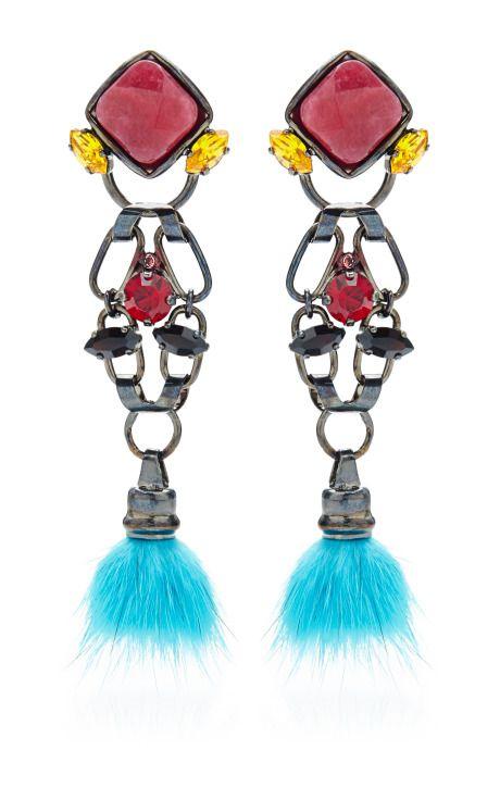 Artesan Earrings by VICKISARGE for Preorder on Moda Operandi