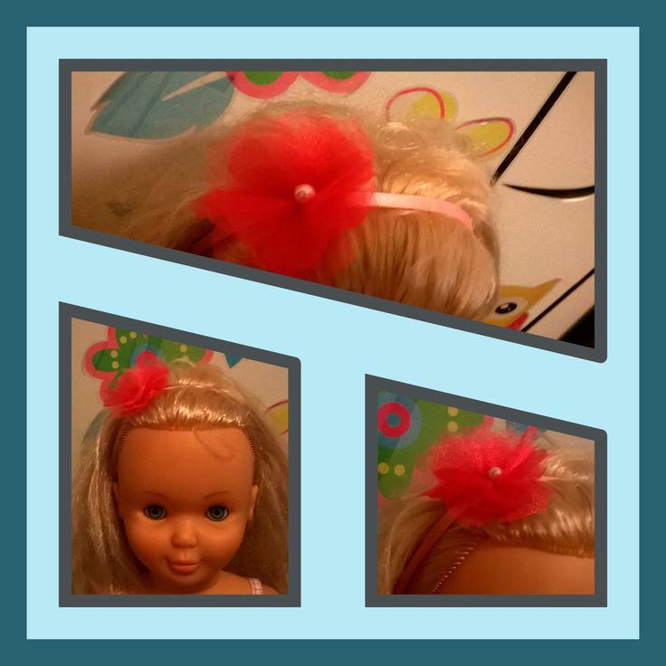 Flower headband#girlyheadband#