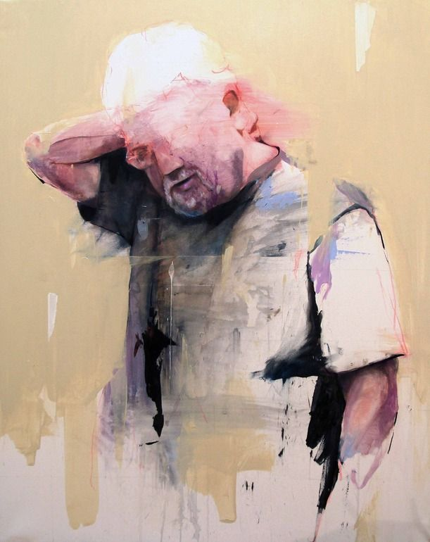 "Saatchi Online Artist: Lou ROS; Acrylic, 2012, Painting ""GT"""