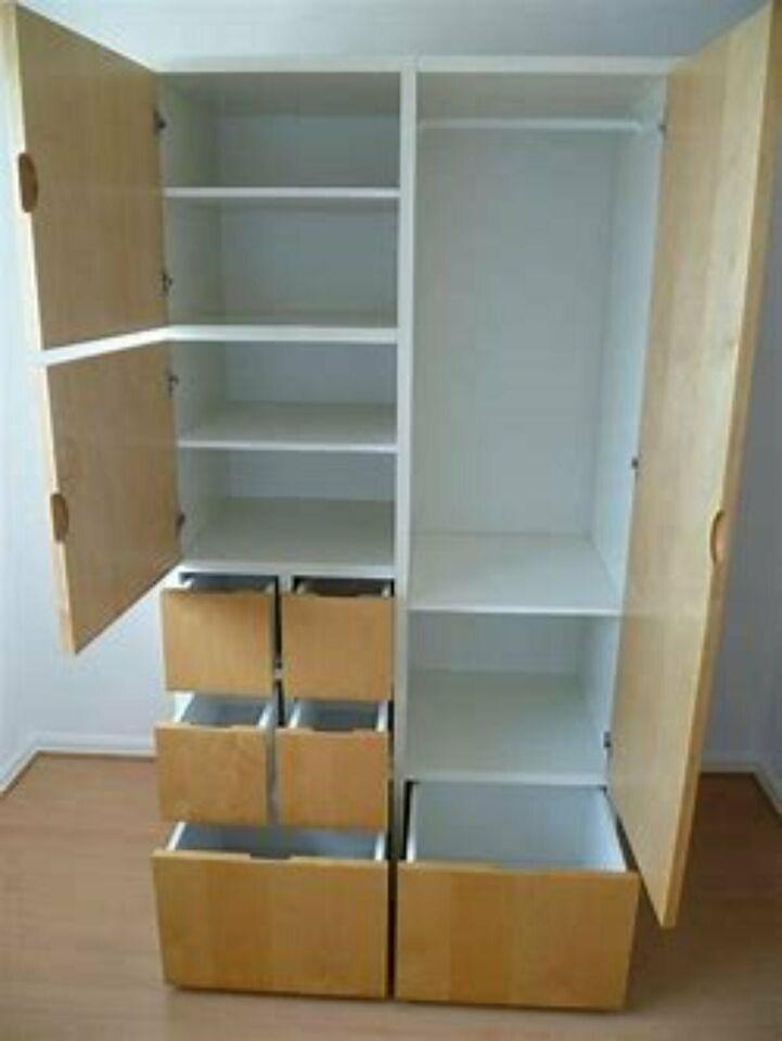 Ikea Schrank Weiss Holz