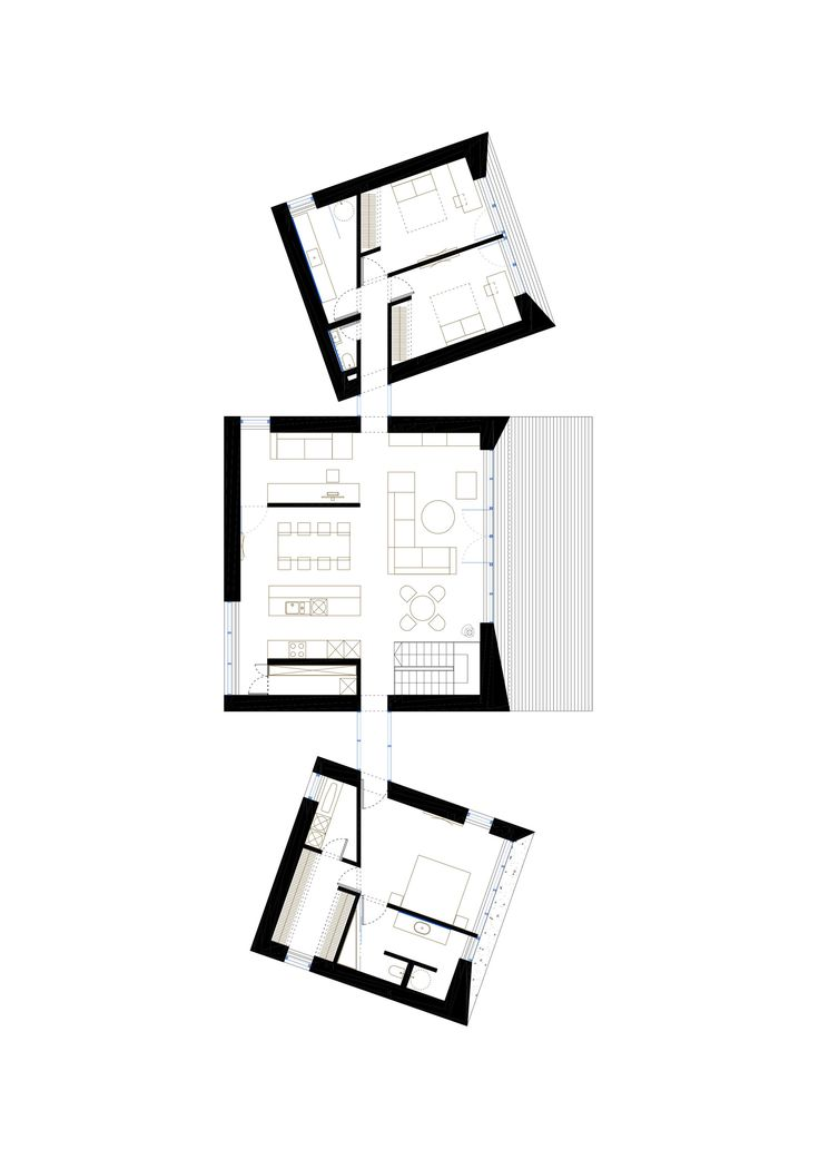 Image 26 of 32 from gallery of Family House In Palanga / UAB Architektu biuras. Floor Plan