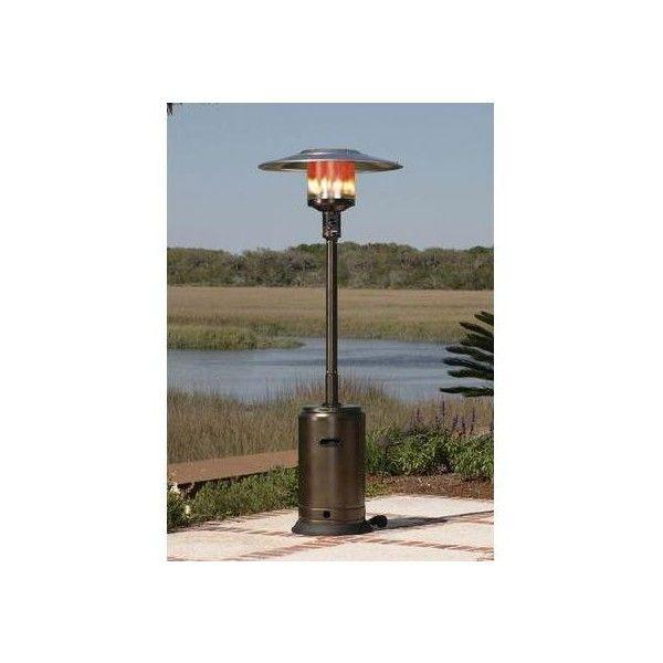 Fire Sense 46000 BTU Commercial Propane Patio Heater With Piezo... ($240)