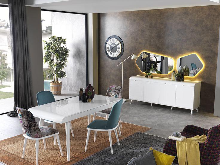Enjoy Modern Yemek Odası sadeliğini ve şıklığını evinize yansıtıyor!   #Modern #Furniture #Mobilya #Enjoy#Yemek #Odası #Sönmez #Home #EnGüzelAnlara #YeniSezon #Praga #YemekOdası #Home #HomeDesign  #Design #Decoration #Ev #Evlilik #Wedding #Çeyiz #Konfor #Rahat #Renk #Salon #Mobilya #Çeyiz  #Kumaş #Stil #Tasarım #Furniture #Tarz #Dekorasyon #Vitrin