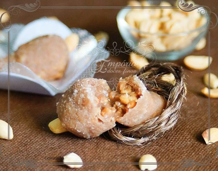 Cajuzinho, a tradicional receita ainda mais gostosa - Empório Doces Finos #docinho #amendoim #aniversário ou #casamento #cremoso e #gostoso
