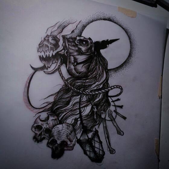 Redberry Tattoo Studio #tattoowroclaw #redberrywroclaw #redberrypoland #wroclawtattoo #amazingtattoo #toptattoo #inked #inks #poznan #opole #brzeg #berlinredberry #dresden #berlintattoo #renton #rentonstelmach #stelmach #project #horse #horseman #death #jezdziecapokalipsy #skull #black