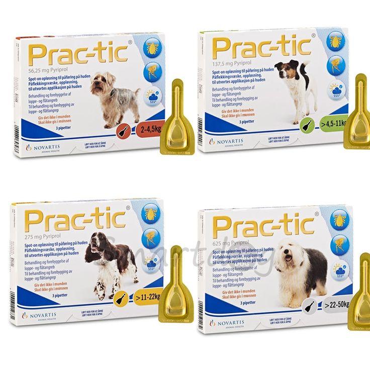 Prac-Tic til hunde - Mod flåter, lus og lopper
