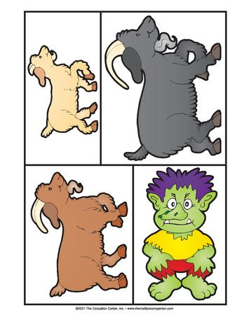 Three Billy Goats Gruff, Lesson Plans - The Mailbox