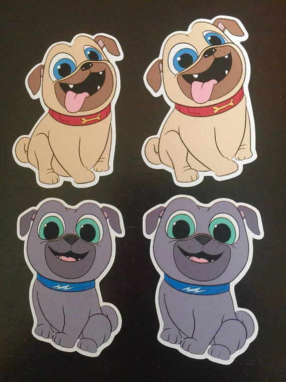 PUPPY DOG PALS Cake Pop Toppers 50fecb8206c