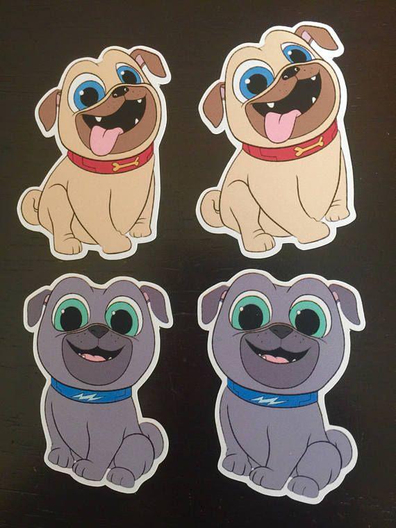 PUPPY DOG PALS Cake Pop Toppers, Puppy Dog Pals Cakepop ...
