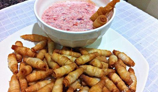 Atıştırmalık Cips Tadında Koza Tarifi / Marifetlitarifler'den yemek tarifleri